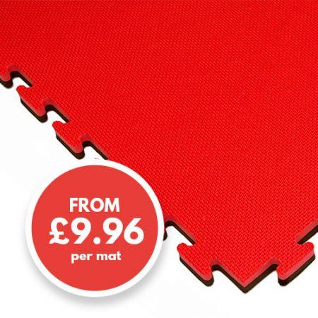 20mm mat red