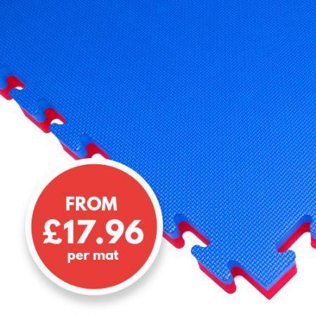 40mm mat blue