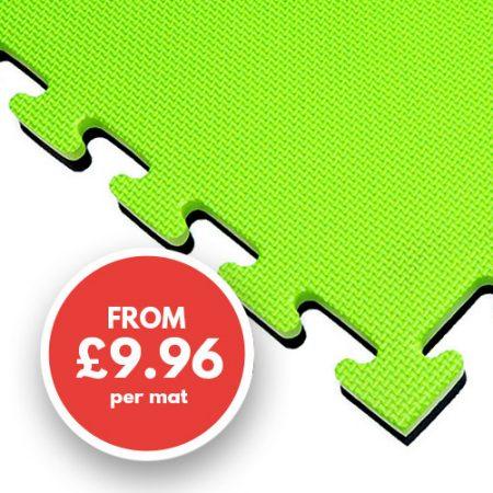 20mm mat green