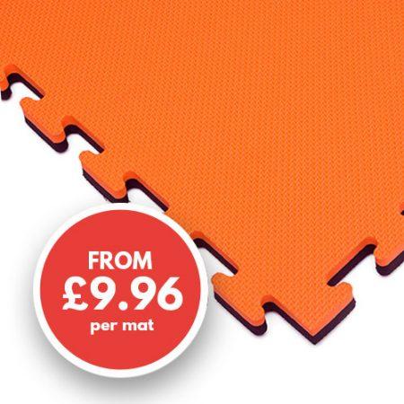 20mm mat orange