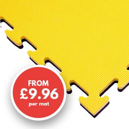 20mm mat yellow