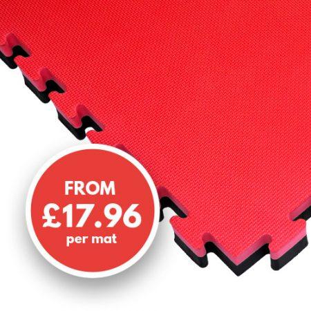 40mm mat red