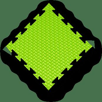 green MMA mats